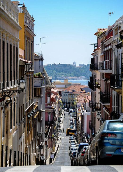 Die Straßen von Lissabon