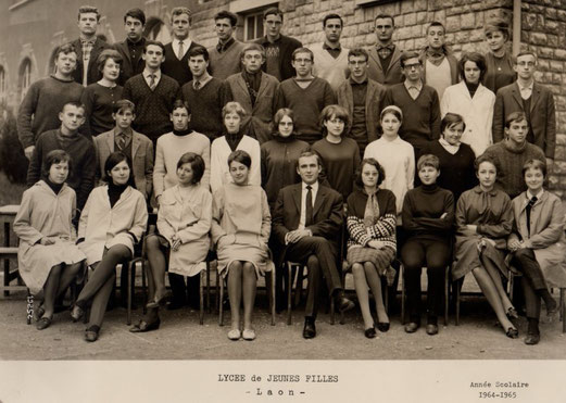 photo de classe Laon 1965 -philo 2