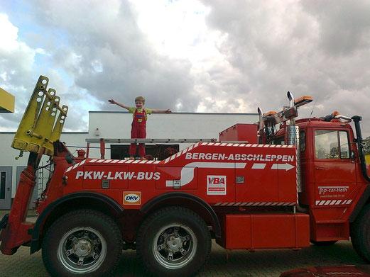 Truck-Bergungsfahrzeug für Bus und LKW