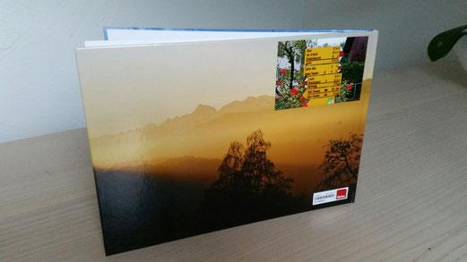 Hauptthema im Fotobuch sind die vier Jahreszeiten auf den Culm's da Domat