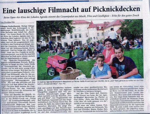 Rhein-Neckar-Zeitung vom 4.8.2014