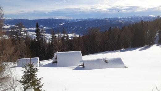 Schifahren am Fanningberg