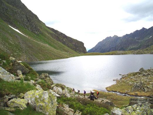 Abstieg zum Liegnitzsee