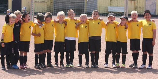 TuS F2-Jugend im Juli 2013. - (Foto: p.d.).