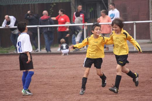 Erfolgreicher Samstag: TuS F1-Jugend - Turniersieger in Leithe (Foto: m.d.).