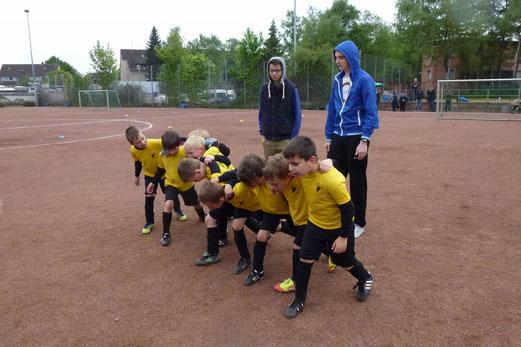 Zwei Siege, ein Unentschieden: TuS Bambini 1 beim Fußball Treff an der Theodor-Hartz-Straße (Foto: mal).