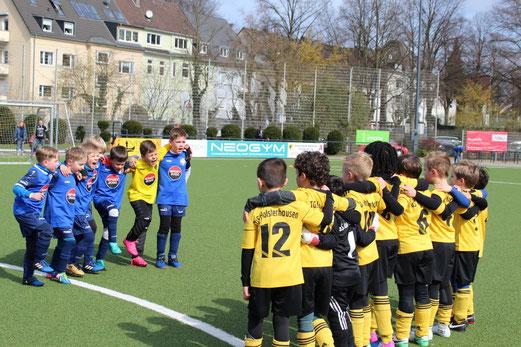 TuS F3 beim Spiel gegen BW Fuhlenbrock (Bild Tanja Kirschstein)