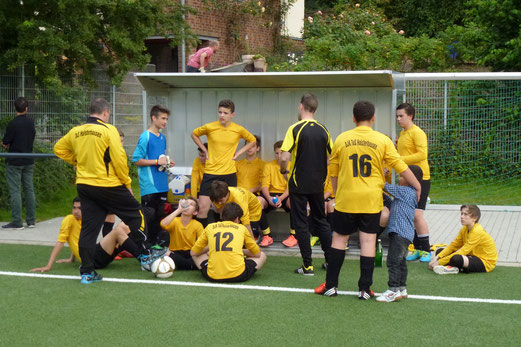 TuS C-Jugend bei den TuS Turnier Tagen, Pelmanstraße, 27.06.2014. - Foto: mal.