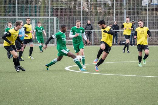 TuS A-Jugend im Auswärtsspiel beim SC Phönix. - (Foto: r.f.).