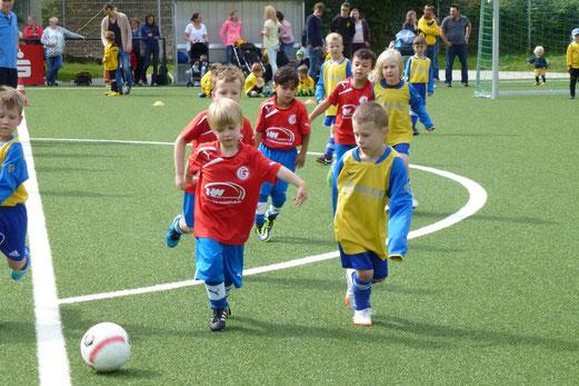 Bambini 2 Treff: Eintracht Gelsenkirchen - ESG 99/06 (3:0). - (Foto: mal).