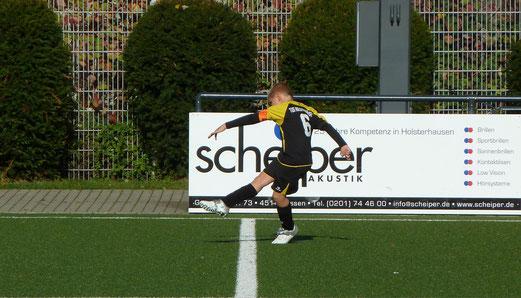 TuS F2-Jugend im Spiel gegen die F2 des FC Kray. - Fotos: mal.