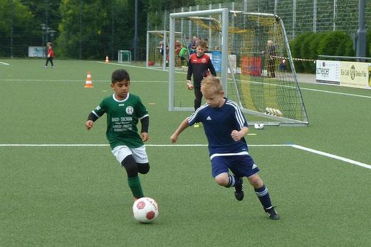 TuS-Turnier-Samstag, E2-Jugend Turnier, VfB Habinghorst gegen TuSpo Saarn.