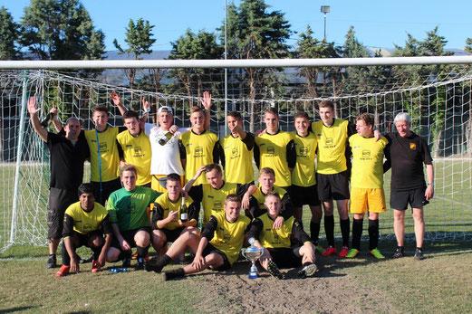 TuS A-Jugend Saison 2013/14: Zweiter beim U19-Turnier der Trofeo Delfino in Rimini, Juni 2014. - (Foto: abo).