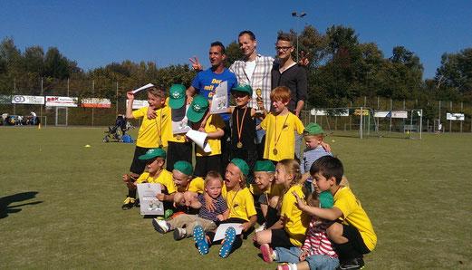 Fünf Siege in fünf Spielen: TuS Bambini 1 beim Tag des Jugendfußballs an der Ardelhütte. - Foto: p.a.