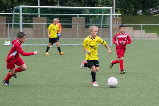 Punktgewinn: E1-Jugend im Auswärtsspiel beim ESC Preußen (Foto: r.f.).