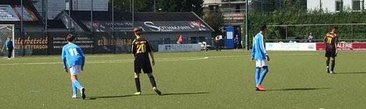 TuS C2-Jugend im Spiel bei der C2 des SV Burgaltendorf. - Foto: stig.