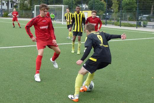 TuS A-Jugend im Heimspiel gegen SC Werden-Heidhausen. - Fotos: mal (1-5), abo (6-7).