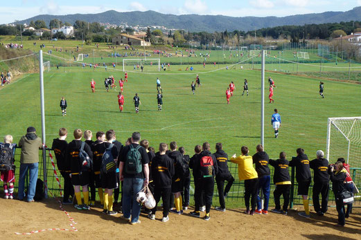 Dienstag, 02. April: Sport Centre Blanes (Foto: mal).