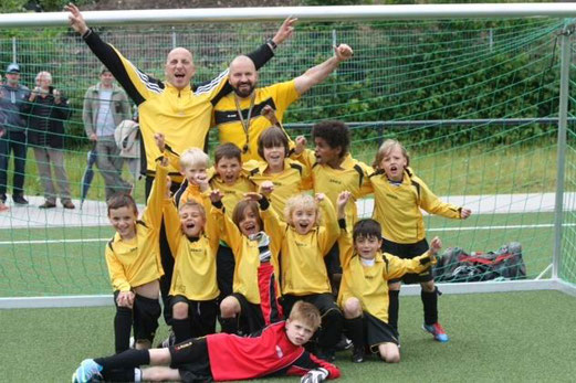 F2-Jugend Turniersieger: TuS Holsterhausen F2 (Foto: p.d.).