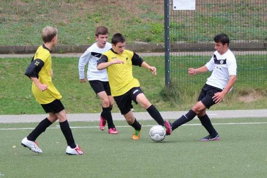 C-Jugend im Spiel beim ESC Preußen (Foto: abo).