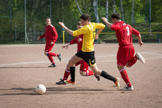 Zweite Mannschaft im Auswärtsspiel bei Wacker Bergeborbeck. - (Foto: r.f.).
