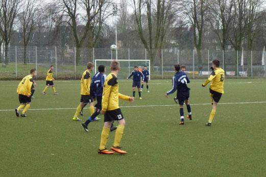 TuS B-Jugend im Auswärtsspiel beim VfB Frohnhausen. - (Foto: mal).