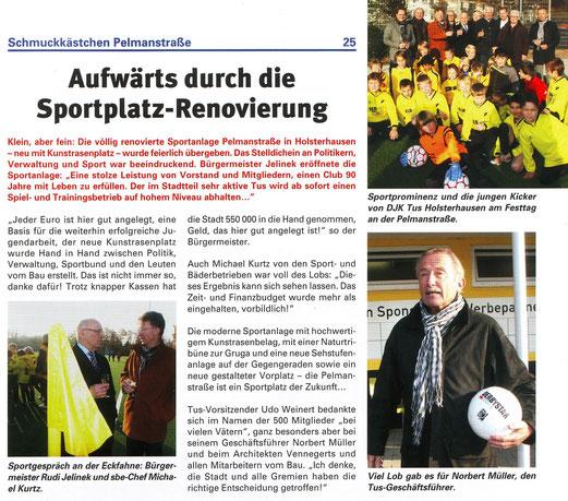 ESPO: Sport in Essen - Ausgabe Dezember 2012.