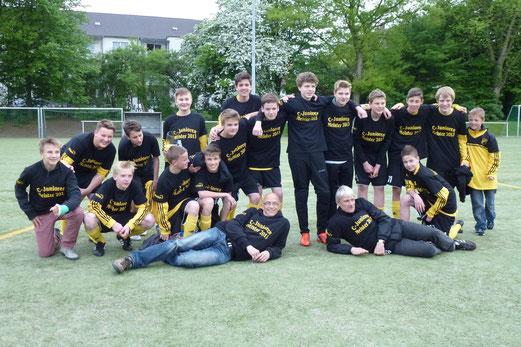 TuS C-Jugend Kreisklassenmeister 2013 (Foto: ble).
