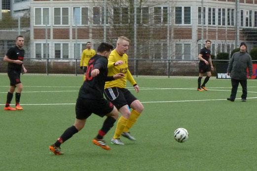 TuS Vierte Mannschaft im Testspiel gegen SC Werden-Heidhausen IV. - Fotos: mal.