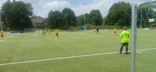 TuS D2-Jugend beim Turnier an der Ardelhütte. - Fotos: m.d.