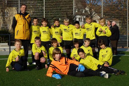 TuS E2-Jugend im November 2012 (Foto: mal).