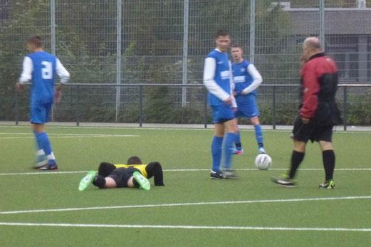 TuS A-Jugend im Abendspiel gegen die SG Schönebeck (Foto: mal).