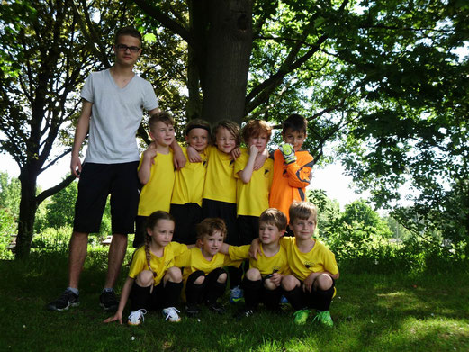 TuS Bambini 2, Spielrunde beim ESC Preußen 02, 07.06.2014. - (Foto: p.a.).