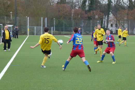 Dritte Mannschaft im Testspiel gegen SV Körne 83 II. aus Dortmund. - (Foto: mal).