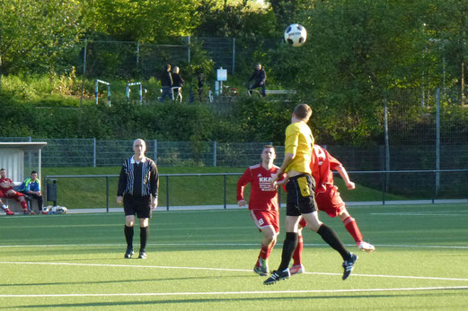 Erneute Niederlage: Zweite Mannschaft im Spiel gegen JuSpo Essen-West. - (Foto: mal).