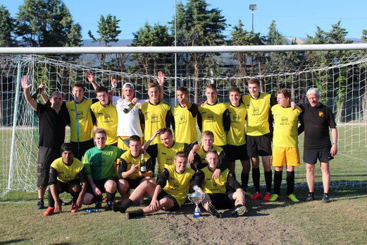 TuS A-Jugend 2013/14, Zweiter beim U19 Turnier der Trofeo Delfino in Rimini, Pfingsten 2014. - (Foto: abo).