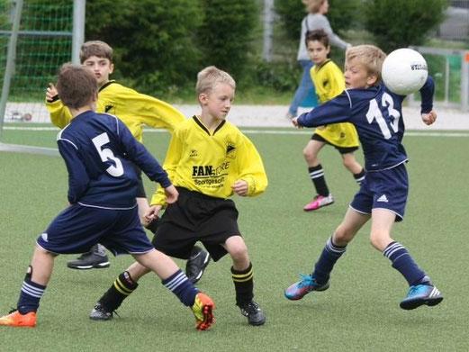 F1-Jgd. Turnier Spiel um Platz 3: SG Kupferdreh-Byfang - TuS Holsterhausen (Foto: p.d.).