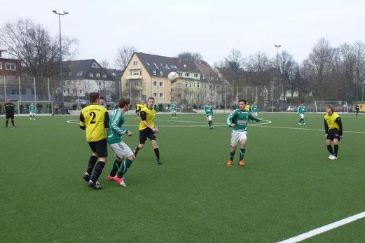 Erneut erfolgreich: A-Jugend im Spiel gegen SpVgg. Schonnebeck A2. (Foto: mal).