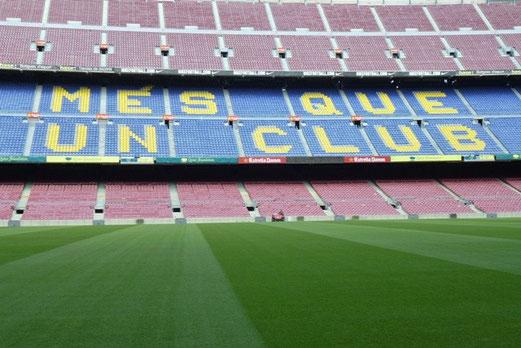 Barcelona, Camp Nou, 17 Grad, trocken (Foto: mal).