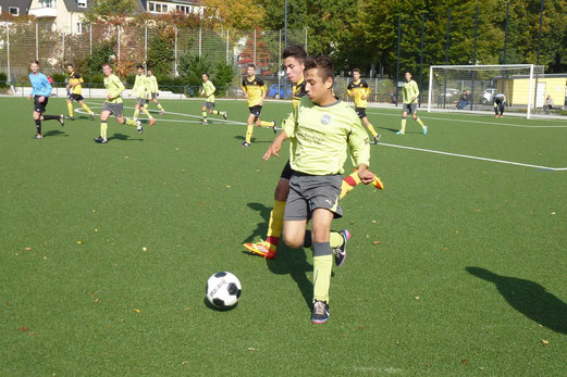 B-Jugend im Spiel gegen den SC Phönix (Foto: mal).