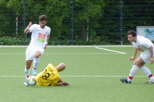 Es war durchaus mehr drin für die Dritte Mannschaft im heutigen Spiel gegen Rot-Weiss Essen 3. - (Foto: mal).
