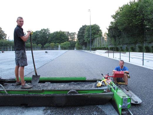 12.09.2012: Wahre Arbeit, wahrer Lohn ... (Foto: r.f.).