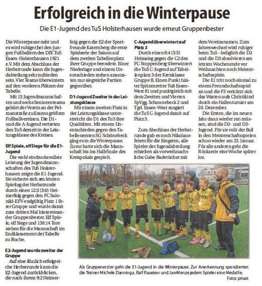 Südanzeiger, 16.12.2015. - Anklicken zum Vergrößern.
