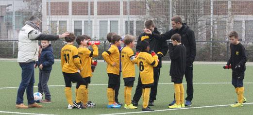 Klarer 9:2 Heimsieg: TuS E1-Jugend im Spiel gegen den SuS Haarzopf. - Foto: p.d.