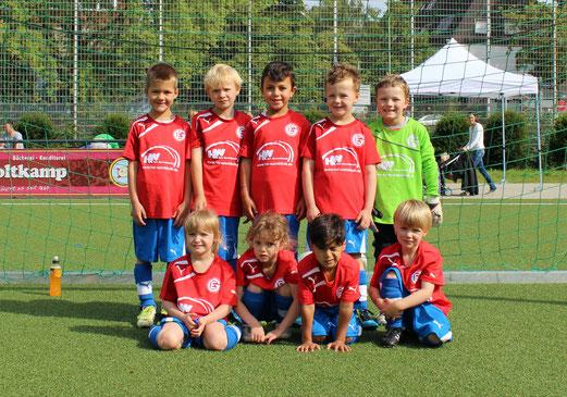 SG Eintracht Gelsenkirchen - Bambini 2. - (Foto: a.s.).