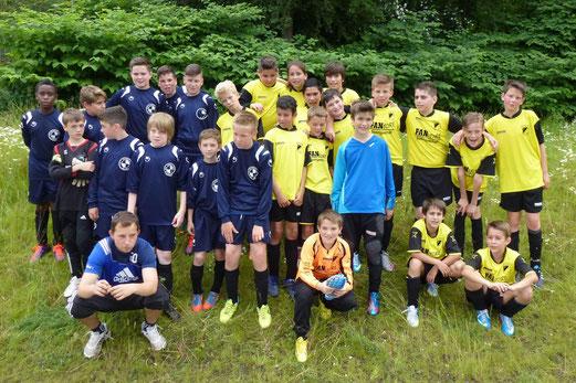 D-Jugend Freundschaftsspielpartner: TuS Holsterhausen und SuS Schwarz-Blau Gladbeck (Foto: mal).