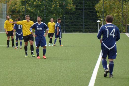 Zweite Mannschaft im Spiel gegen Barisspor 84 (Foto: mal).