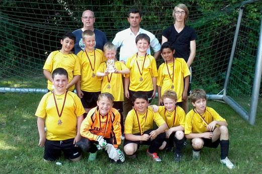TuS E3-Jugend: Platz vier beim E2-Turnier in Haarzopf (Foto: p.a.).