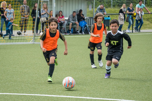 TuS F3-Jugend - TSV Heimaterde F2 (0:0). - Fotos: r.f., mal.