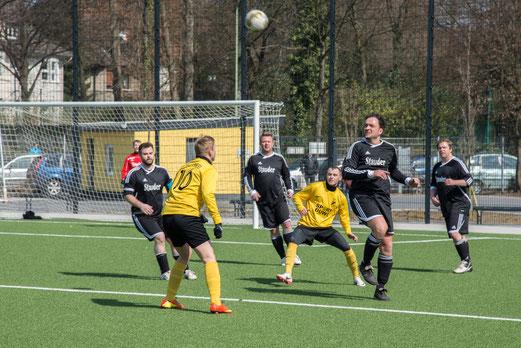 Äußerst knappe Niederlage: Dritte Mannschaft am Ostermontag gegen SC Phönix 3. (Foto: r.f.)
